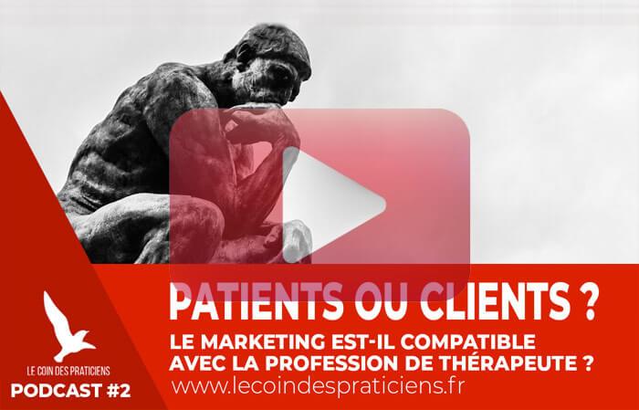 client-patient-therapeute-promouvoir-cabinet