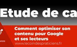 Etude de cas (Hypnose et perte de poids) : Comment optimiser son contenu pour Google et ses lecteurs